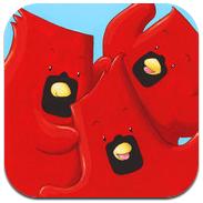 3 Pájaros Rojos Leer & Pintar