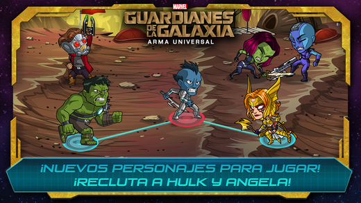 Marvel Guardianes de la Galaxia 1