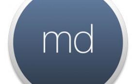 md-markdown-writing-app-logo