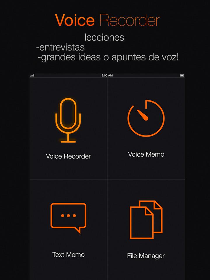 grabador-voz-pro-gratis-ipad