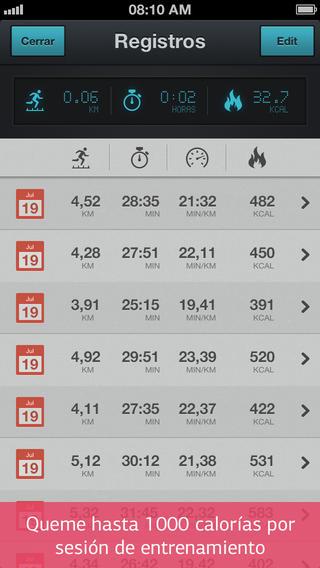 app correr para adelgazar pro